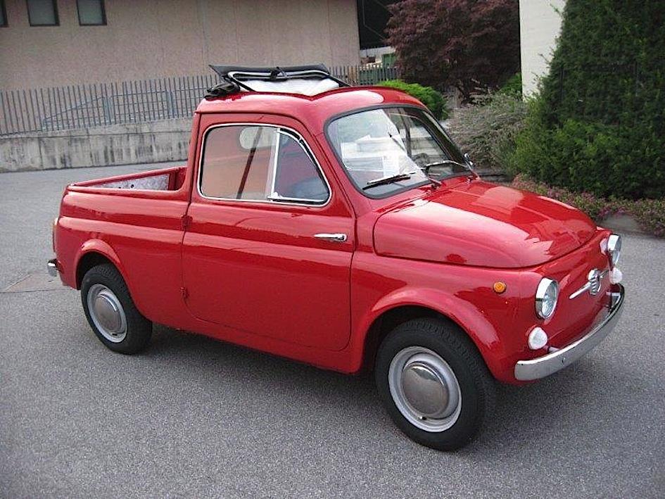 Fiat 500 furgoncino e cassonato l 39 italia commerciale for Immagini giardiniere