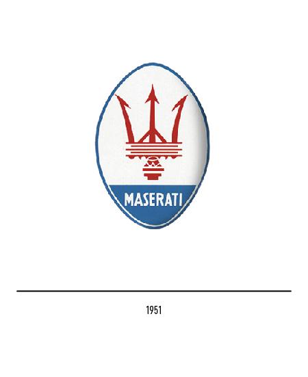 Simbolo Maserati
