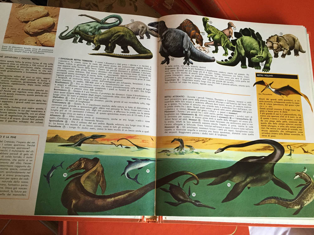 Conoscere le enciclopedie vintage
