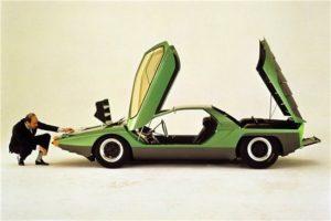 Alfa Romeo 33 Carabo - Gandini Marcello - un genio