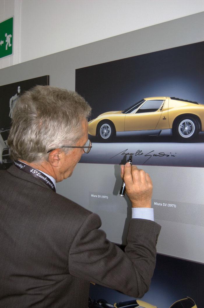 Marcello Gandini - genio - come addattare un auto ad un telaio