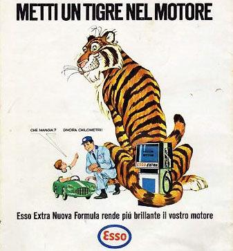 metti un tigro nel motore e dannata vintage.com