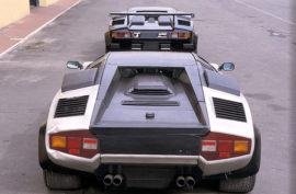 Lamborghini Countach Evoluzione, 1987