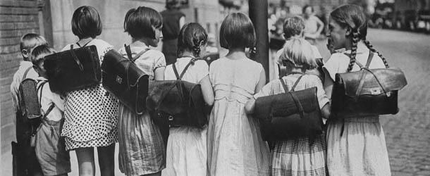 la scuola vintage