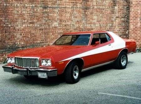 Ford Gran Torino Muscle Car Con Dedica Dannatavintage Com