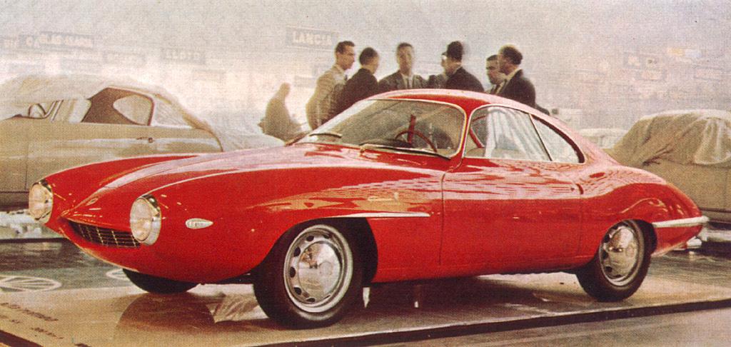 """Alfa Romeo Giulietta """"Sprint Speciale"""" prototipo di Bertone"""