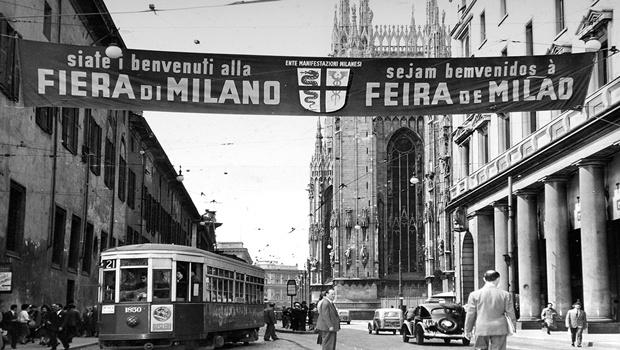 Foto e piazza vintage