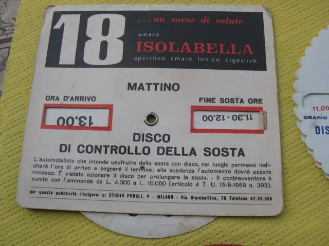 dischi orari vintage
