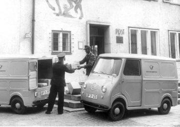 goggomobil postal van