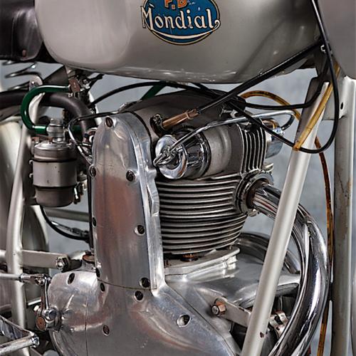 mondial_125_monoalbero_motore