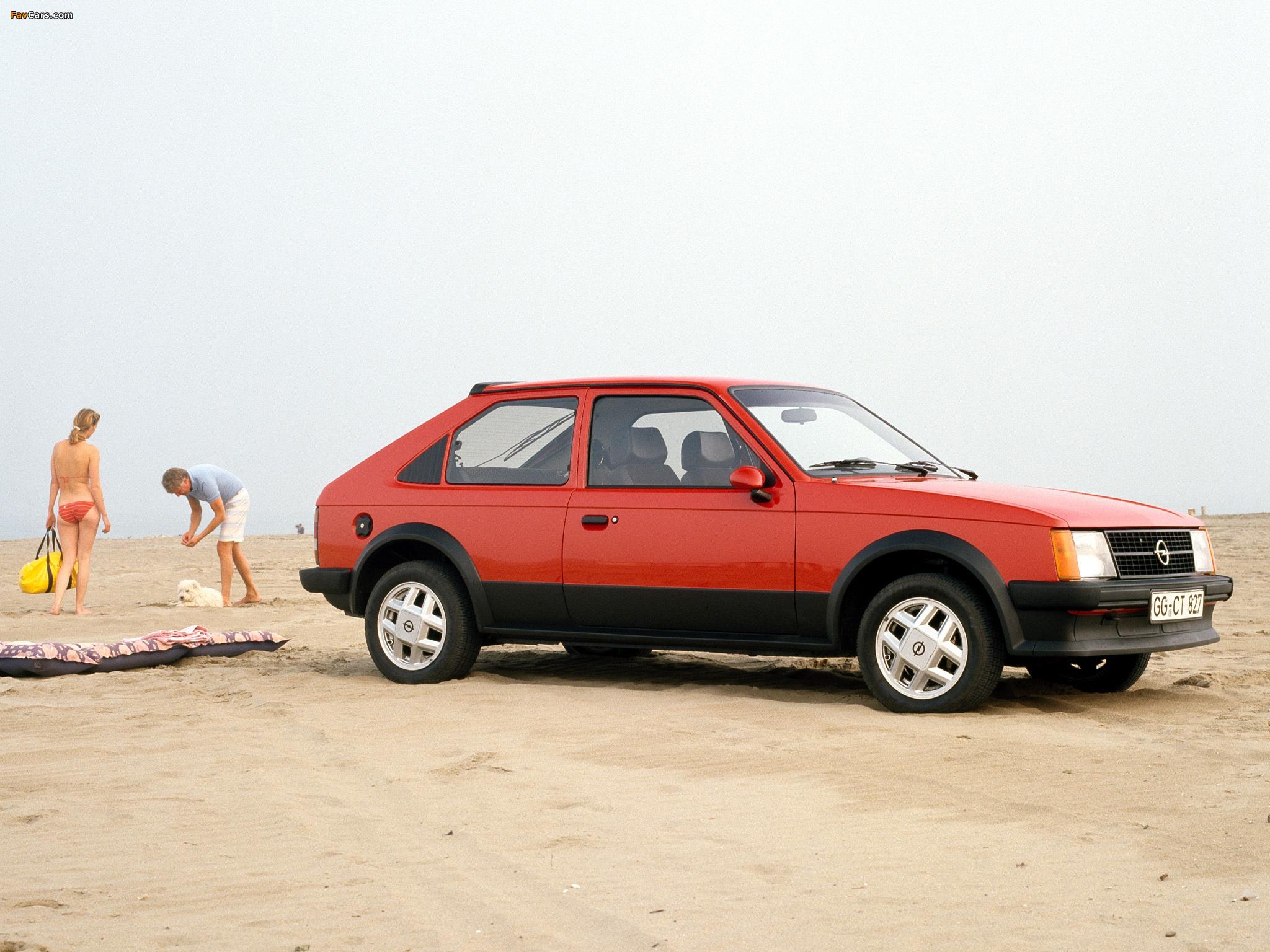 Opel Kadett D SR 1300 CC
