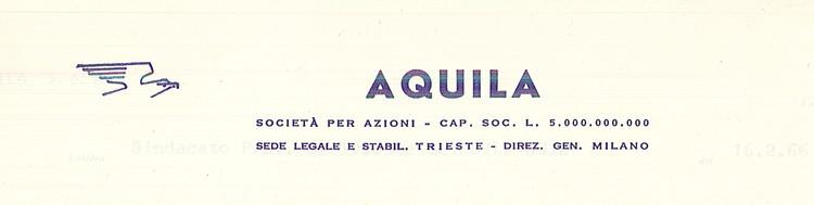Aquila Oli Minerali Trieste