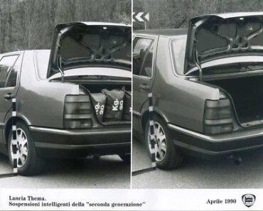 Lancia-Thema-Sospensioni-Intelligenti-Fotografia-Originale-1990-39