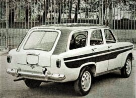 Alfa Romeo Giulietta Weekendina Boneschi 1957-2