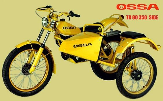"Moto OSSA Sidecar Trial 350 ""Yellow"""