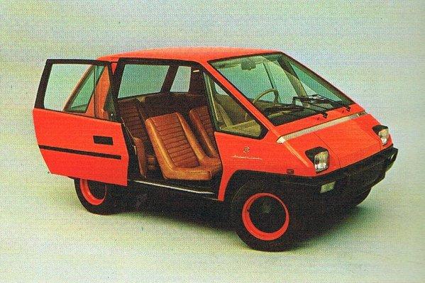 Fiat 126 by Michelotti