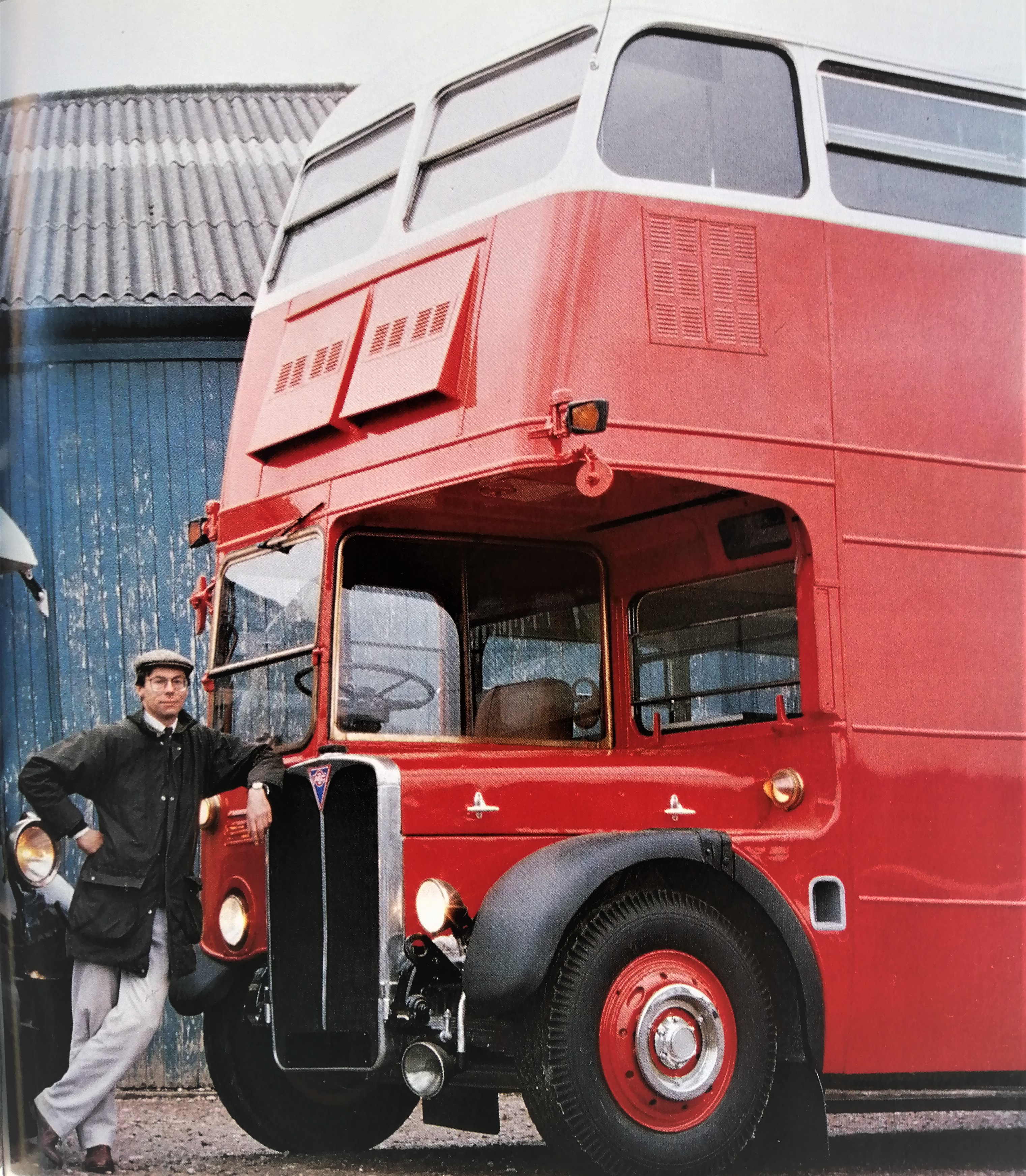Da vecchio bus a