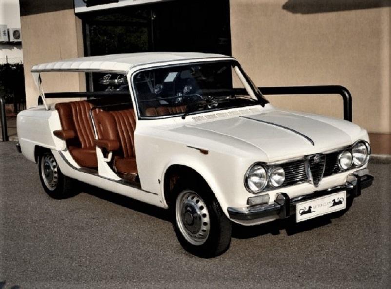 Alfa Romeo Giulia Super Torpedo 1965