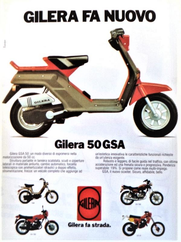 Gilera GSA 50 cc