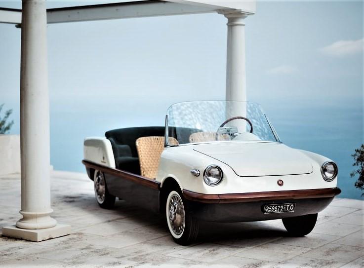 Fiat 500 spiaggina Carrozzeria Boano