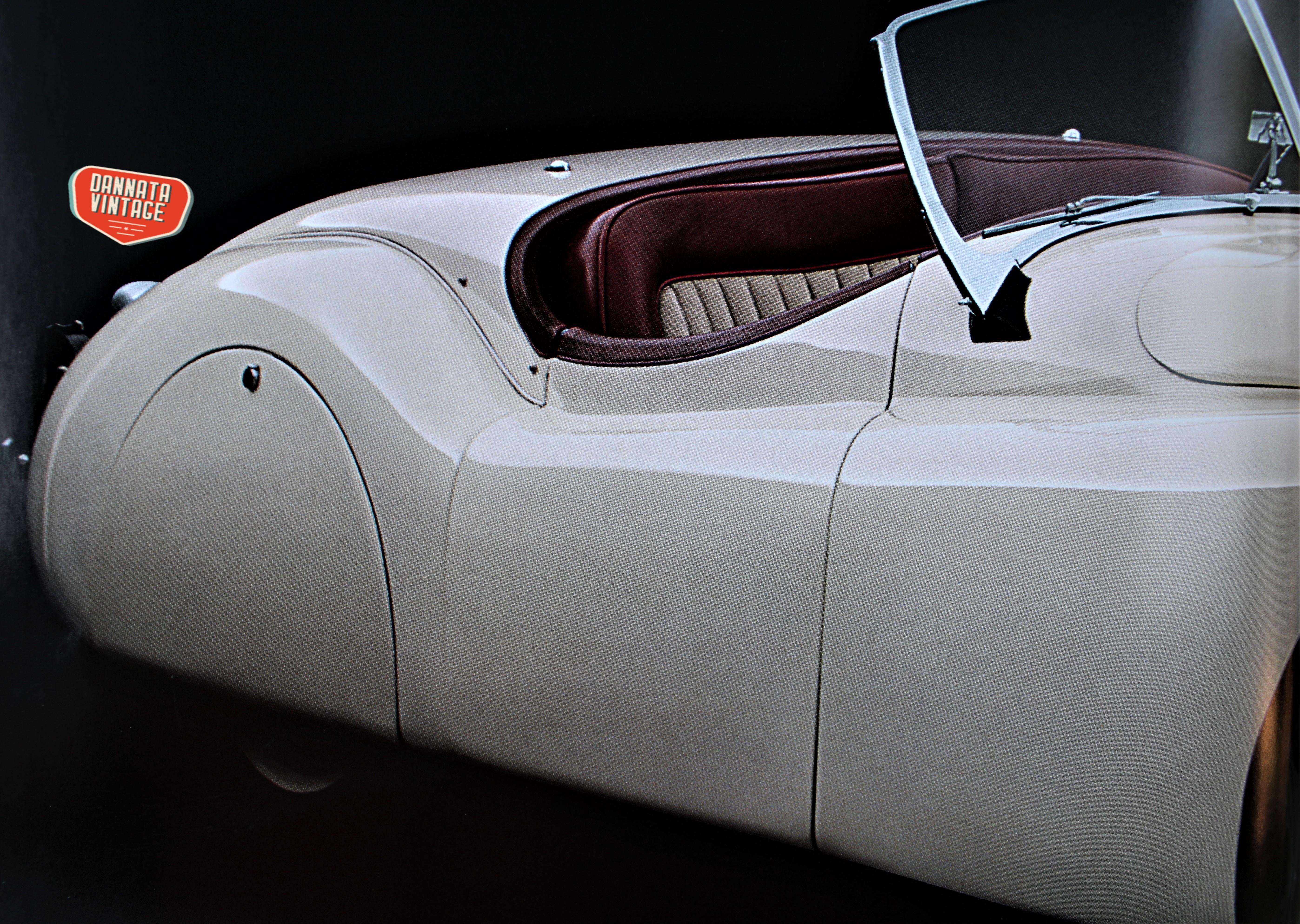 Jaguar XK 120 e la C type