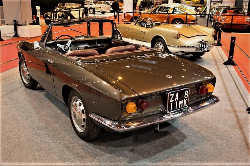 La Alfa Romeo Giulia Spider prototipo