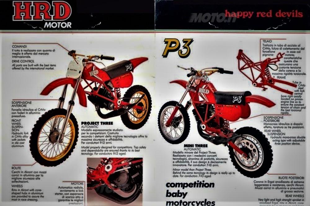 Moto HRD Motor