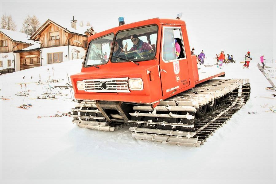 Il gatto delle nevi vintage