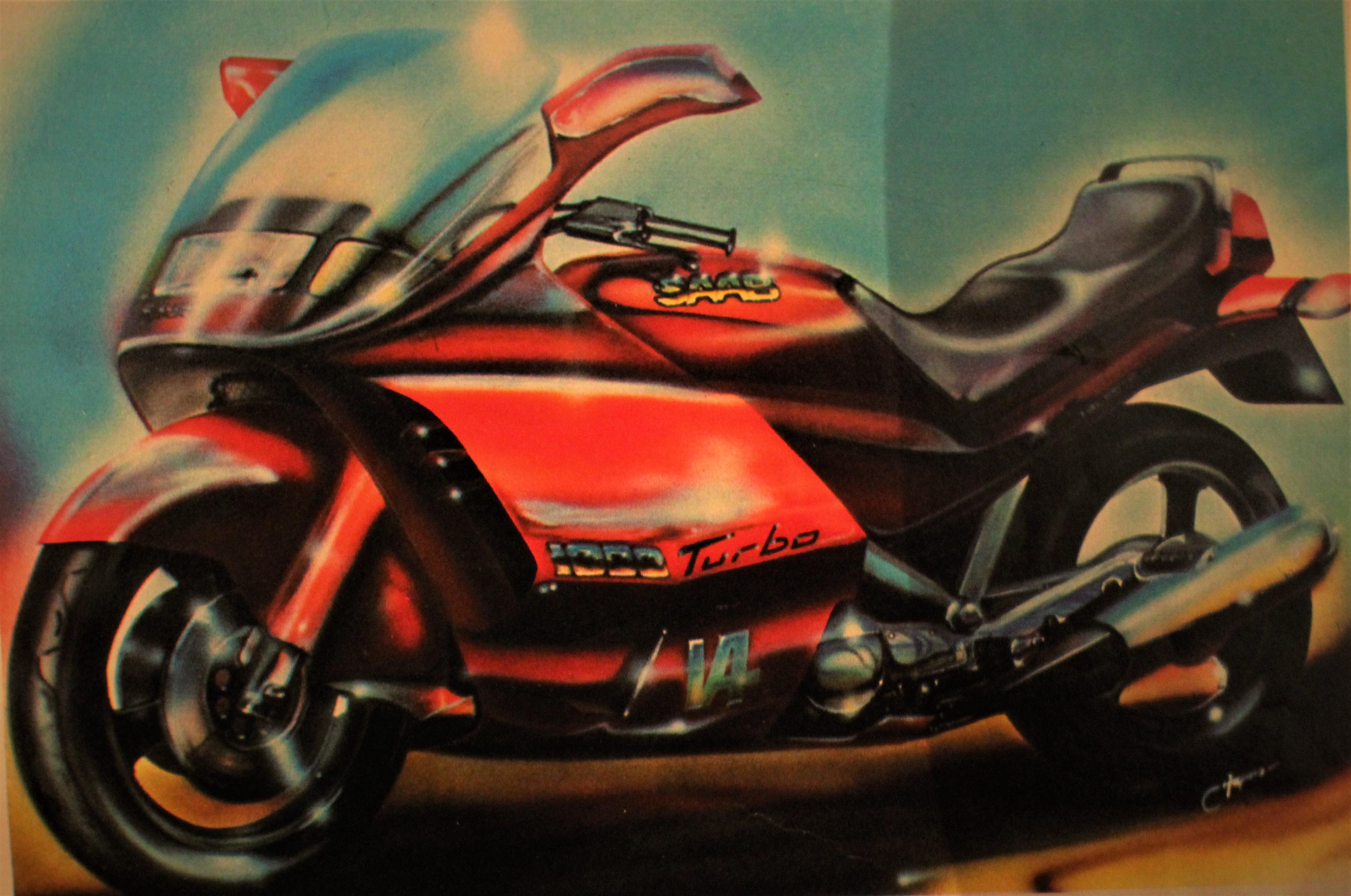 Moto SAAB turbo