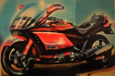SAAB moto turbo