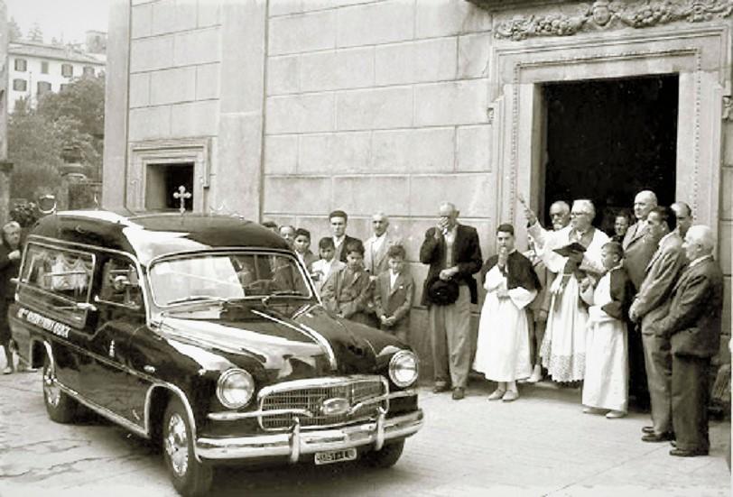 Carri funebre vintage