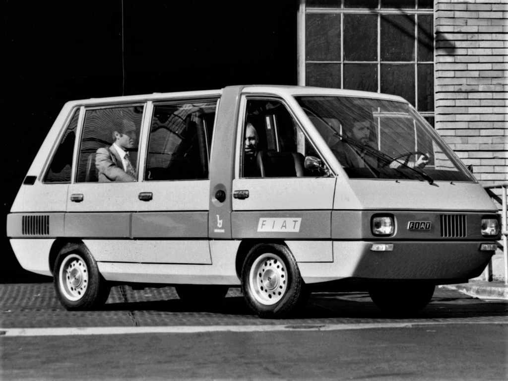 Fiat Visitors Bus Bertone