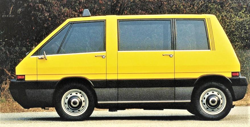 New York Taxi Italdesign un progetto della Italdesign di Giorgetto Giugiaro.