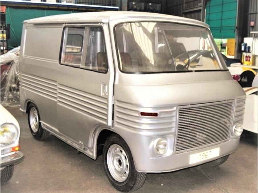 Heuliez simca 1100 van prototype