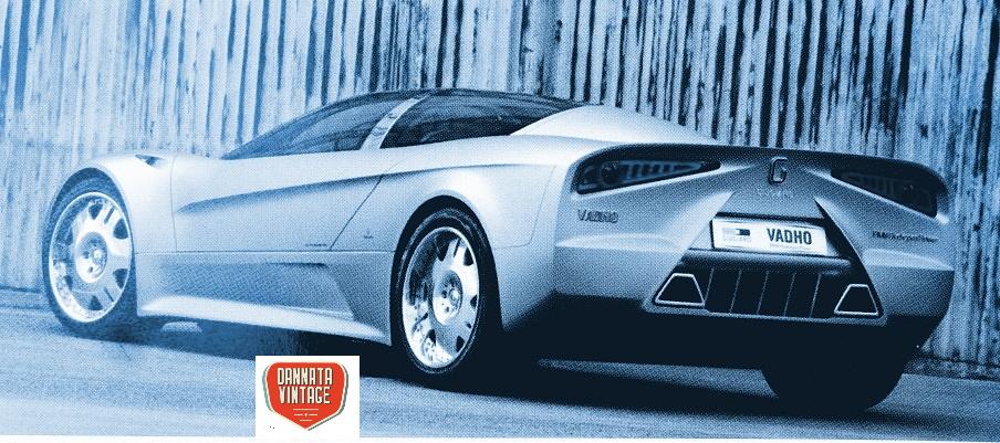 Vadhò Italdesign Giugiaro Il retro della concept di Giugiaro con l'anteriore volutamente sfocato per tentare di sottolinearlo.