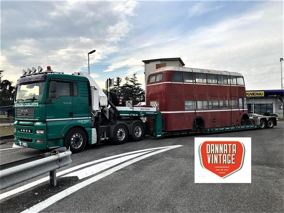 Il London Bus di Bob parte da Caserta......