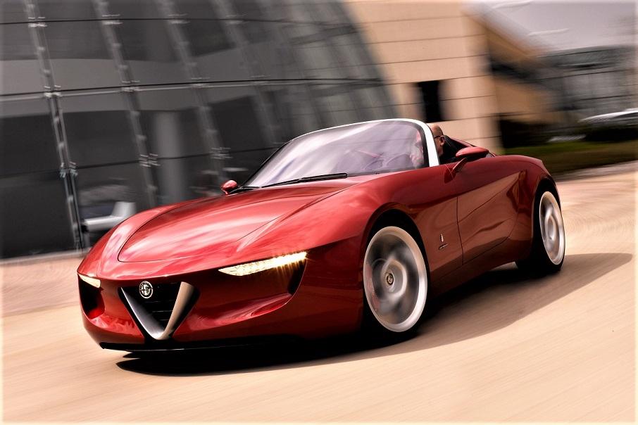 Alfa Romeo 2uettottanta, SPLENDIDA.
