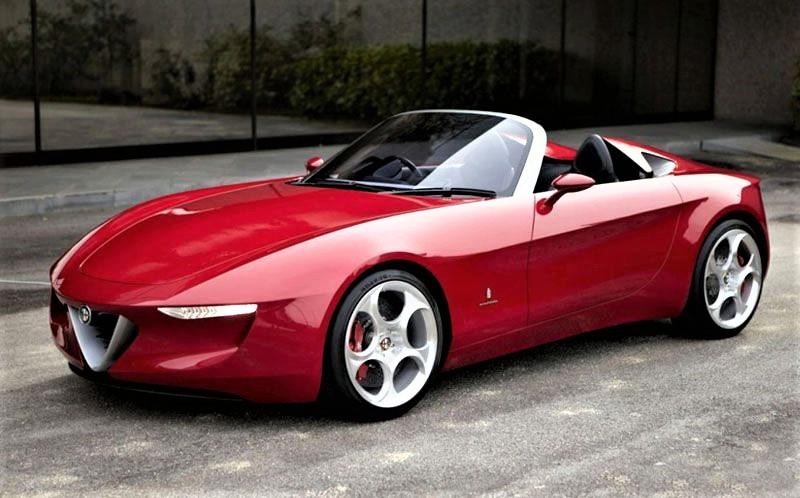 Alfa Romeo 2uettottanta, l'immagine in copertina.