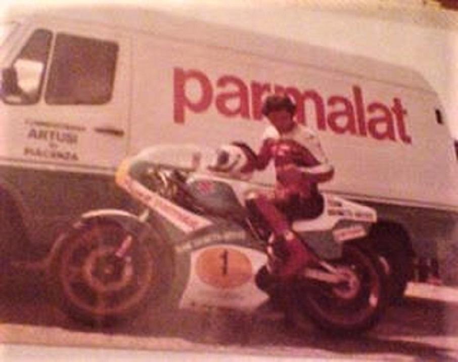 Lucio Fracassi e il nuovo sponsor.