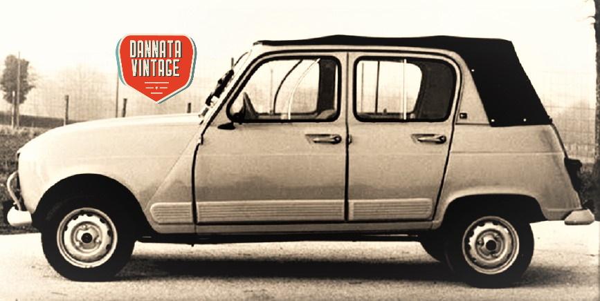 Renault 4 Décuovrable Heuliez