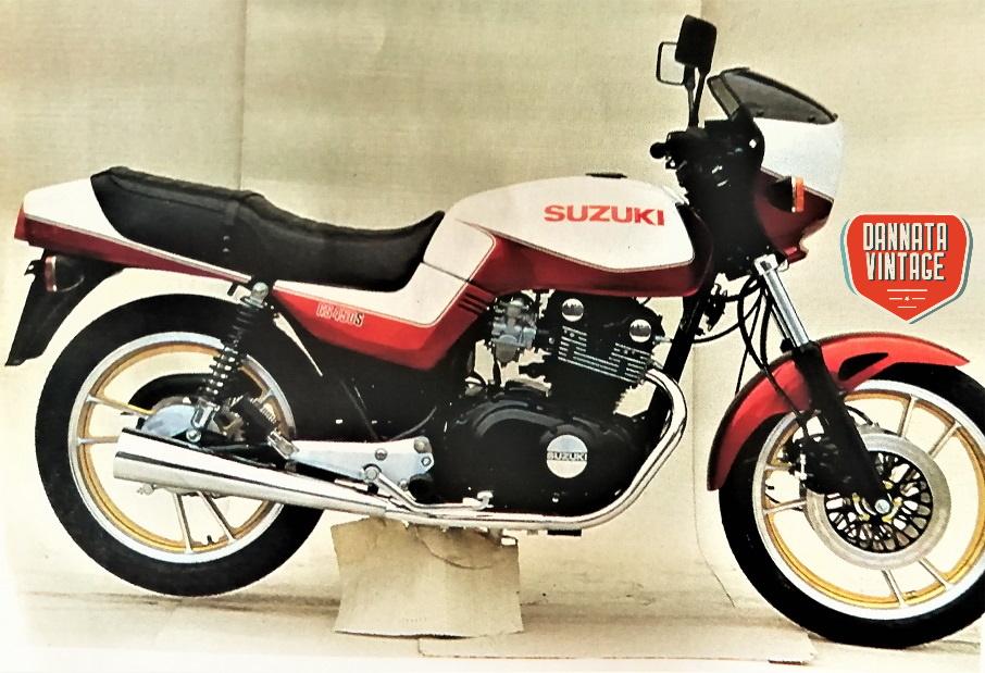 Suzuki GS 450 S, che bella che è....... posso ??????