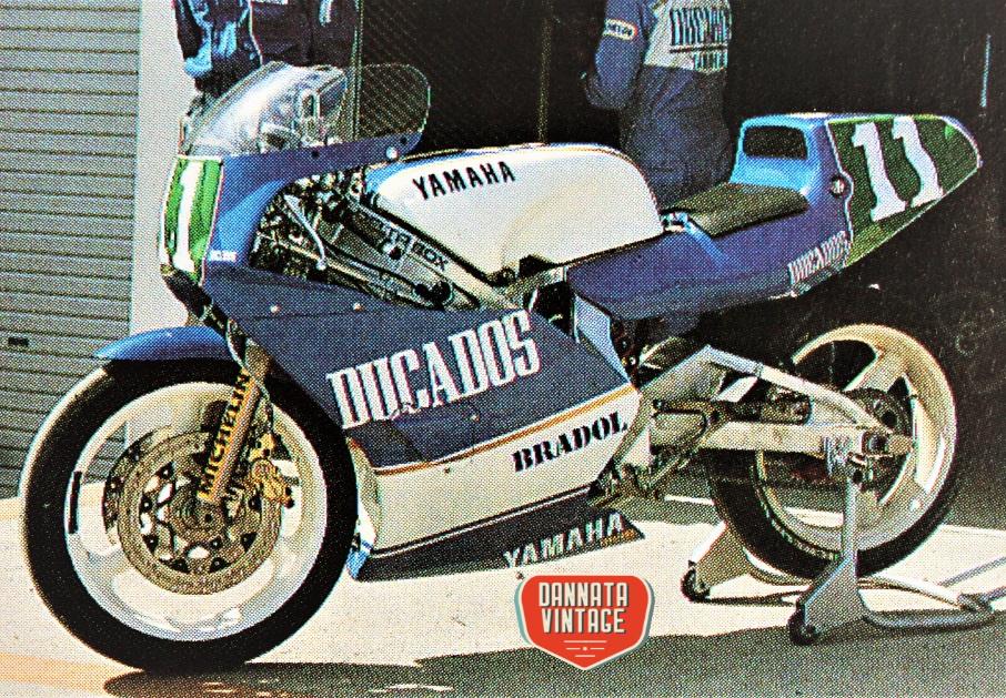 Motomondiale 250 cc 1988 Yamaha YZR 250 cc.