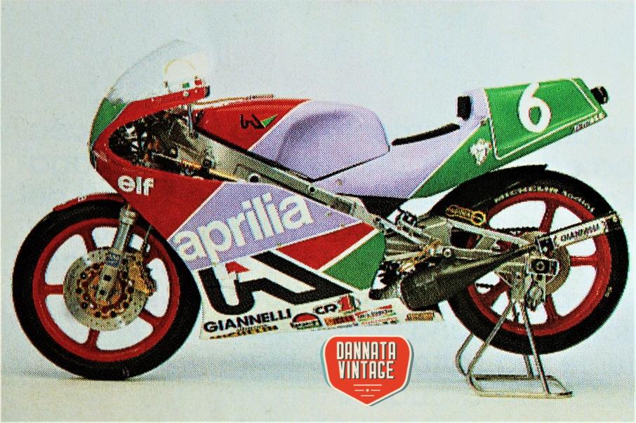 Motomondiale 250 cc 1988 Aprilia 250 cc. AF1