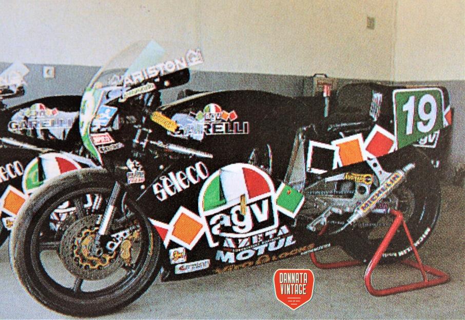 Motomondiale 250 cc 1988 Garelli 250 cc.