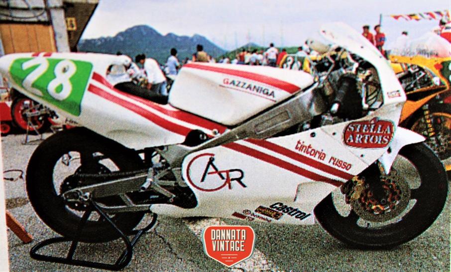 Motomondiale 250 cc 1988 Gazzaniga 250 cc motore Rotax.