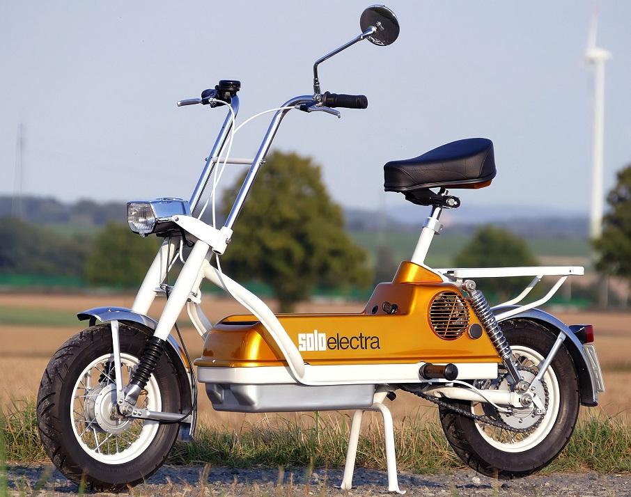 Solo Electra scooter - Esteticamente ben fatto e completo secondo me.