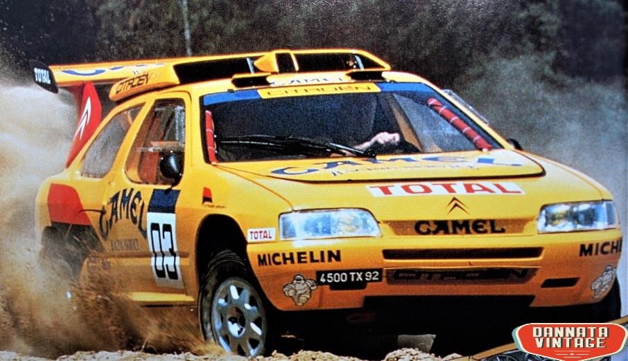 Citroen ZX Rally Raid