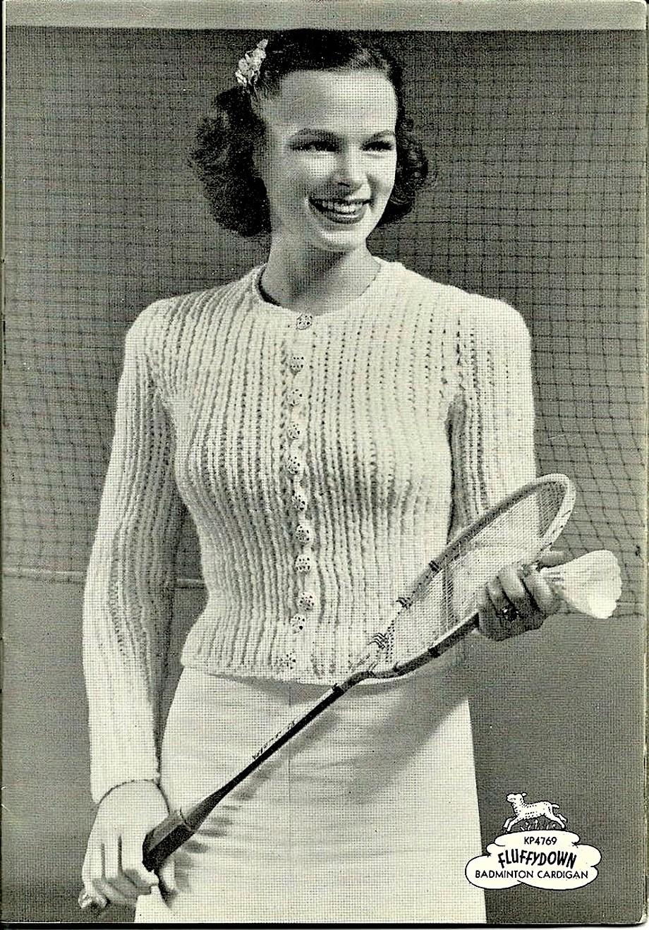 Set da badminton Uno sport inglese e come nel loro stile da indossare un abbigliamento adeguato...... sempre.