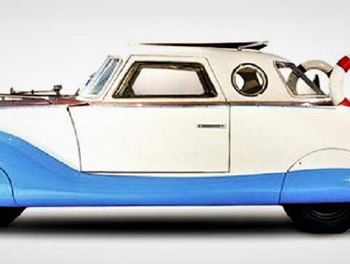 Fiat 1100 Boat Car 3