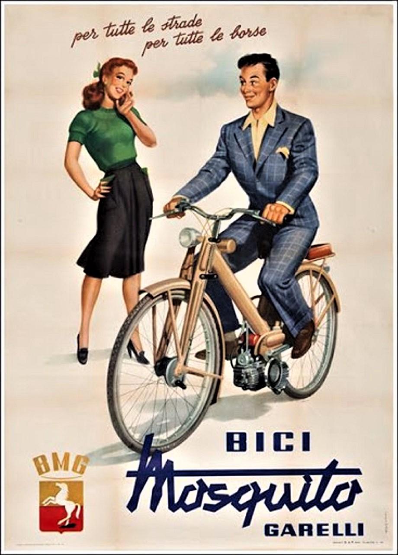 Le biciclette della mia gioventù, il Mosquito.